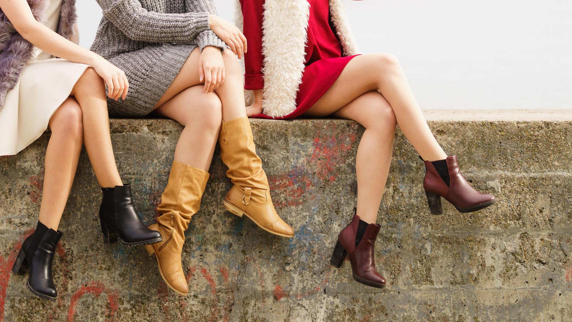 kobiety w botkach
